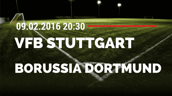 VfB Stuttgart - Borussia Dortmund DFB Pokal 09.02.2016 Tipp