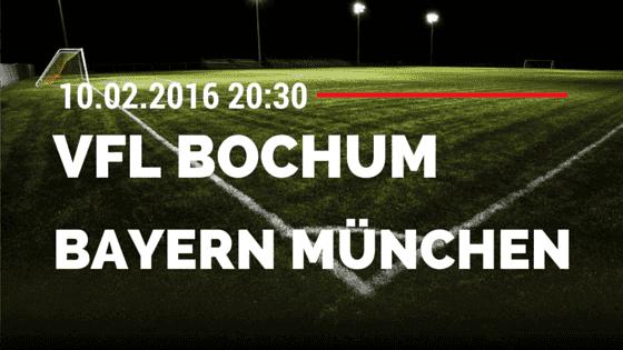 VfL Bochum - FC Bayern München DFB Pokal 10.02.2016 Tipp