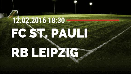 FC St. Pauli – RB Leipzig 12.02.2016 Tipp