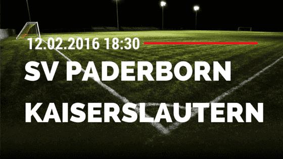 SC Paderborn – 1. FC Kaiserslautern 12.02.2016 Tipp