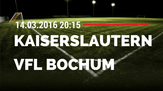 1. FC Kaiserslautern – VfL Bochum 14.03.2016 Tipp