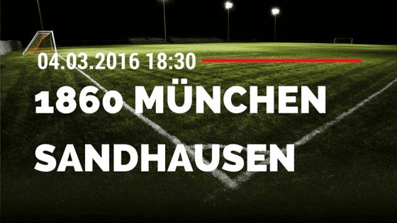TSV 1860 München – SV Sandhausen 04.03.2016 Tipp