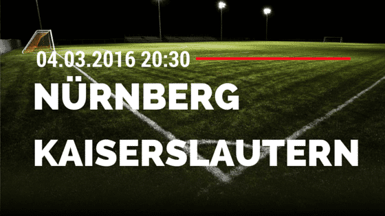 1. FC Nürnberg – 1. FC Kaiserslautern 04.03.2016 Tipp