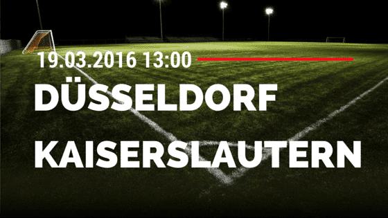 Fortuna Düsseldorf – 1. FC Kaiserslautern 19.03.2016 Tipp