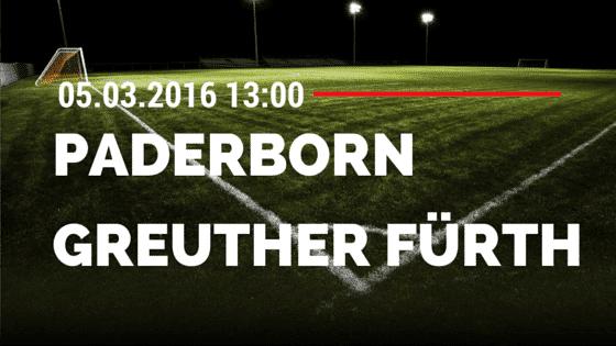 SC Paderborn – SpVgg Greuther Fürth 05.03.2016 Tipp