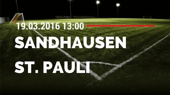 SV Sandhausen – FC St. Pauli 19.03.2016 Tipp