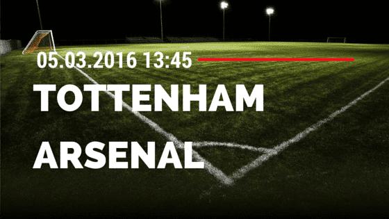 Tottenham Hotspur – FC Arsenal 05.03.2016 Tipp