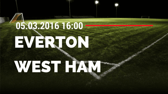 FC Everton – West Ham United 05.03.2016 Tipp