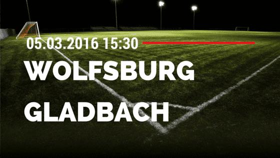 VfL Wolfsburg - Borussia M'gladbach 05.03.2016 Tipp