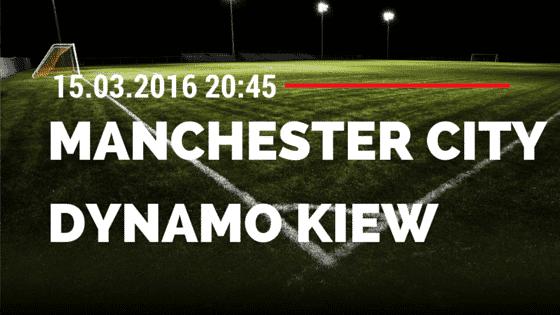 Manchester City – Dynamo Kiew 15.03.2016 Tipp