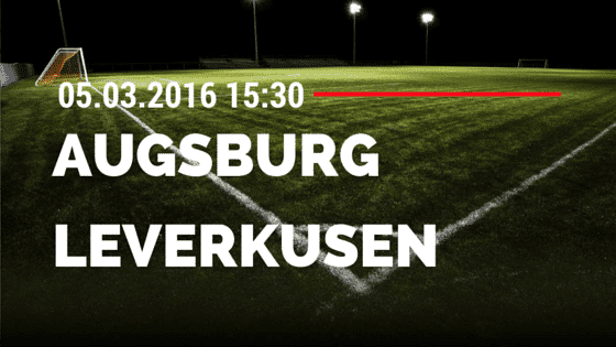 FC Augsburg - Bayer 04 Leverkusen 05.03.2016 Tipp