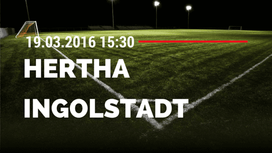 Hertha BSC Berlin - FC Ingolstadt 04 19.03.2016 Tipp