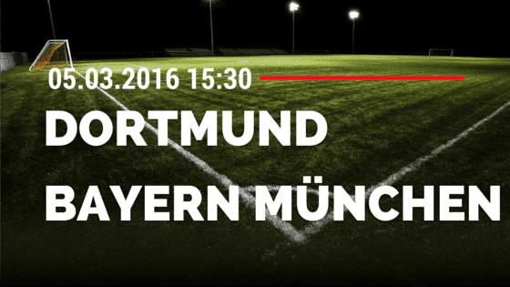 Borussia Dortmund - FC Bayern München 05.03.2016 Tipp