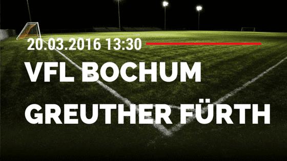 VfL Bochum – SpVgg Greuther Fürth 20.03.2016 Tipp