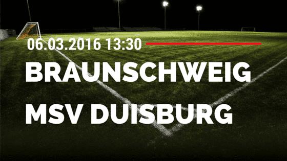 Eintracht Braunschweig – MSV Duisburg 06.03.2016 Tipp