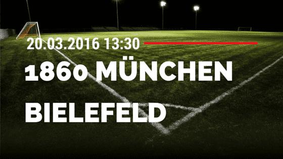 TSV 1860 München – Arminia Bielefeld 20.03.2016 Tipp