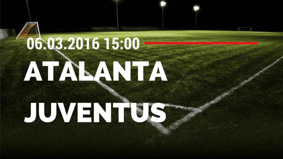 Atalanta Bergamo – Juventus Turin 06.03.2016 Tipp