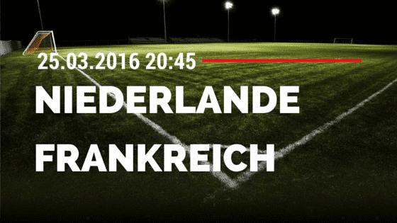 Niederlande - Frankreich 25.03.2016 Freundschaftsspiel Tipp