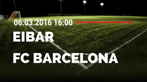SD Eibar – FC Barcelona 06.03.2016 Tipp