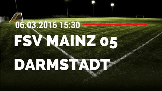 FSV Mainz 05 - SV Darmstadt 98 06.03.2016 Tipp