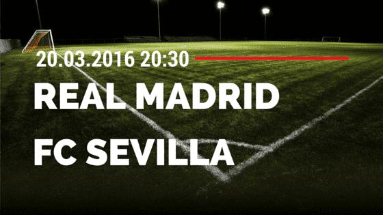 Real Madrid – FC Sevilla 20.03.2016 Tipp