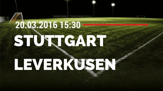 VfB Stuttgart - Bayer 04 Leverkusen 20.03.2016 Tipp