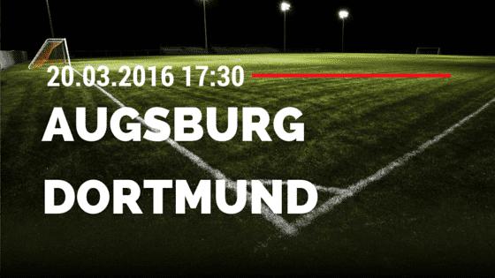 FC Augsburg - Borussia Dortmund 20.03.2016 Tipp