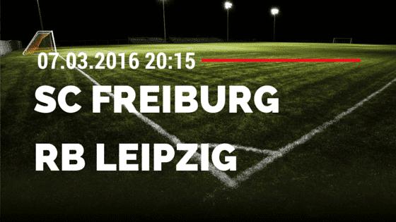 SC Freiburg – RB Leipzig 07.03.2016 Tipp