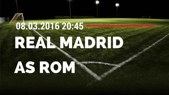 Real Madrid – AS Rom 08.03.2016 Tipp