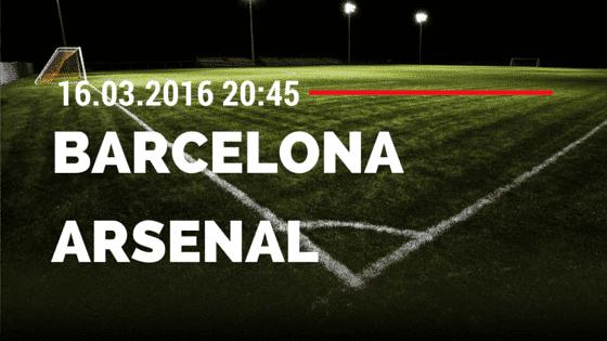 FC Barcelona – FC Arsenal 16.03.2016 Tipp