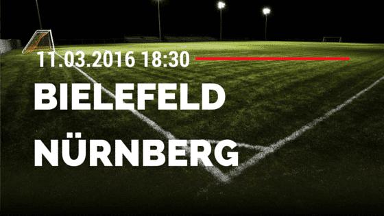 Arminia Bielefeld – 1. FC Nürnberg 11.03.2016 Tipp