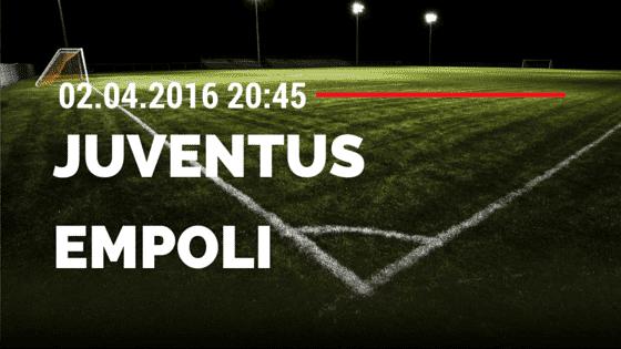 Juventus Turin vs FC Empoli 02.04.2016 Tipp