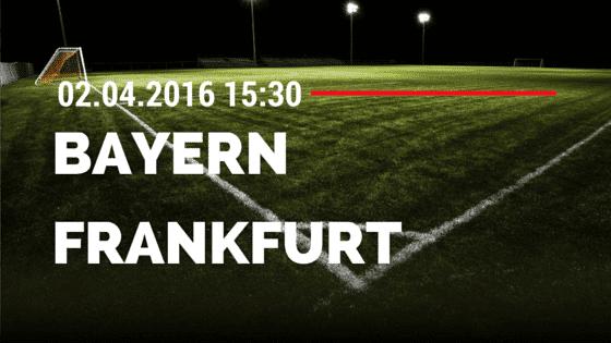 FC Bayern München vs Eintracht Frankfurt 02.04.2016 Tipp