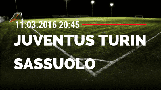 Juventus Turin – Sassuolo Calcio 11.03.2016 Tipp