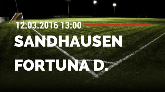 SV Sandhausen – Fortuna Düsseldorf 12.03.2016 Tipp