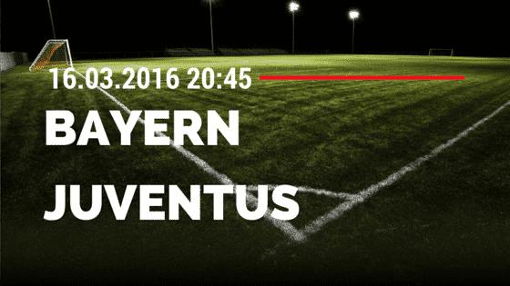 FC Bayern München - Juventus Turin 16.03.2016 Tipp