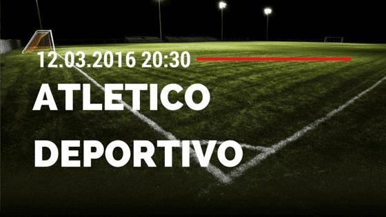 Atletico Madrid – Deportivo La Coruna 12.03.2016 Tipp