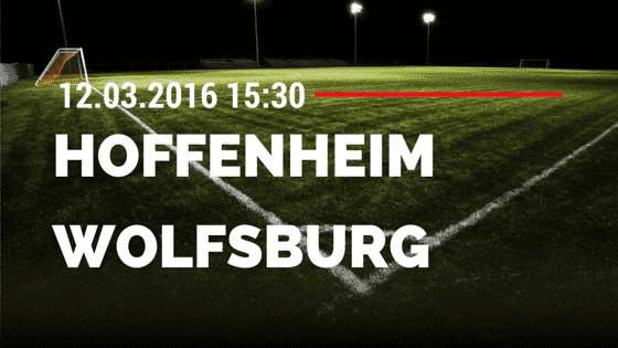 TSG Hoffenheim - VfL Wolfsburg 12.03.2016 Tipp