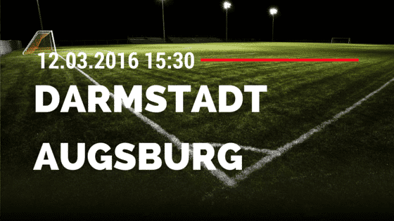 SV Darmstadt 98 - FC Augsburg 12.03.2016 Tipp