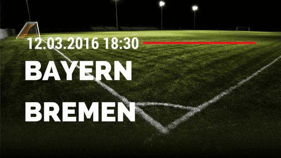 FC Bayern München - SV Werder Bremen 12.03.2016 Tipp