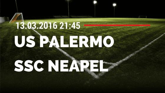 US Palermo – SSC Neapel 13.03.2016 Tipp