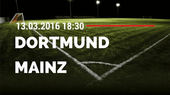 Borussia Dortmund - FSV Mainz 05 13.03.2016 Tipp