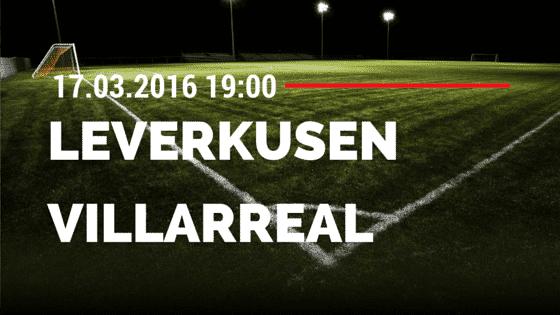 Bayer 04 Leverkusen - FC Villareal 17.03.2016 Tipp