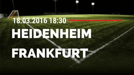 1. FC Heidenheim – FSV Frankfurt 18.03.2016 Tipp