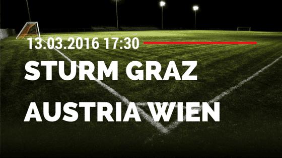 SK Sturm Graz – FK Austria Wien 13.03.2016 Tipp