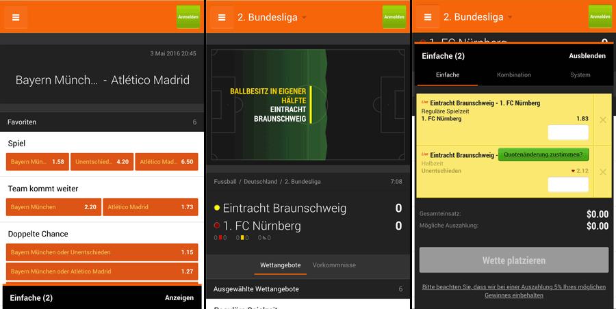 888 Sport App und Mobile