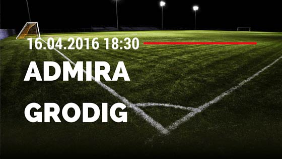 Admira Wacker Mödling vs SV Grödig 16.04.2016 Tipp