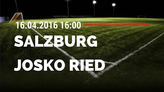 Red Bull Salzburg vs SV Josko Ried 16.04.2016 Tipp