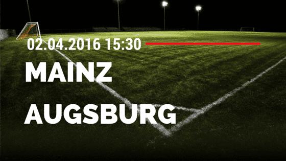 FSV Mainz 05 vs FC Augsburg 02.04.2016 Tipp