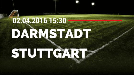 SV Darmstadt 98 vs VfB Stuttgart 02.04.2016 Tipp